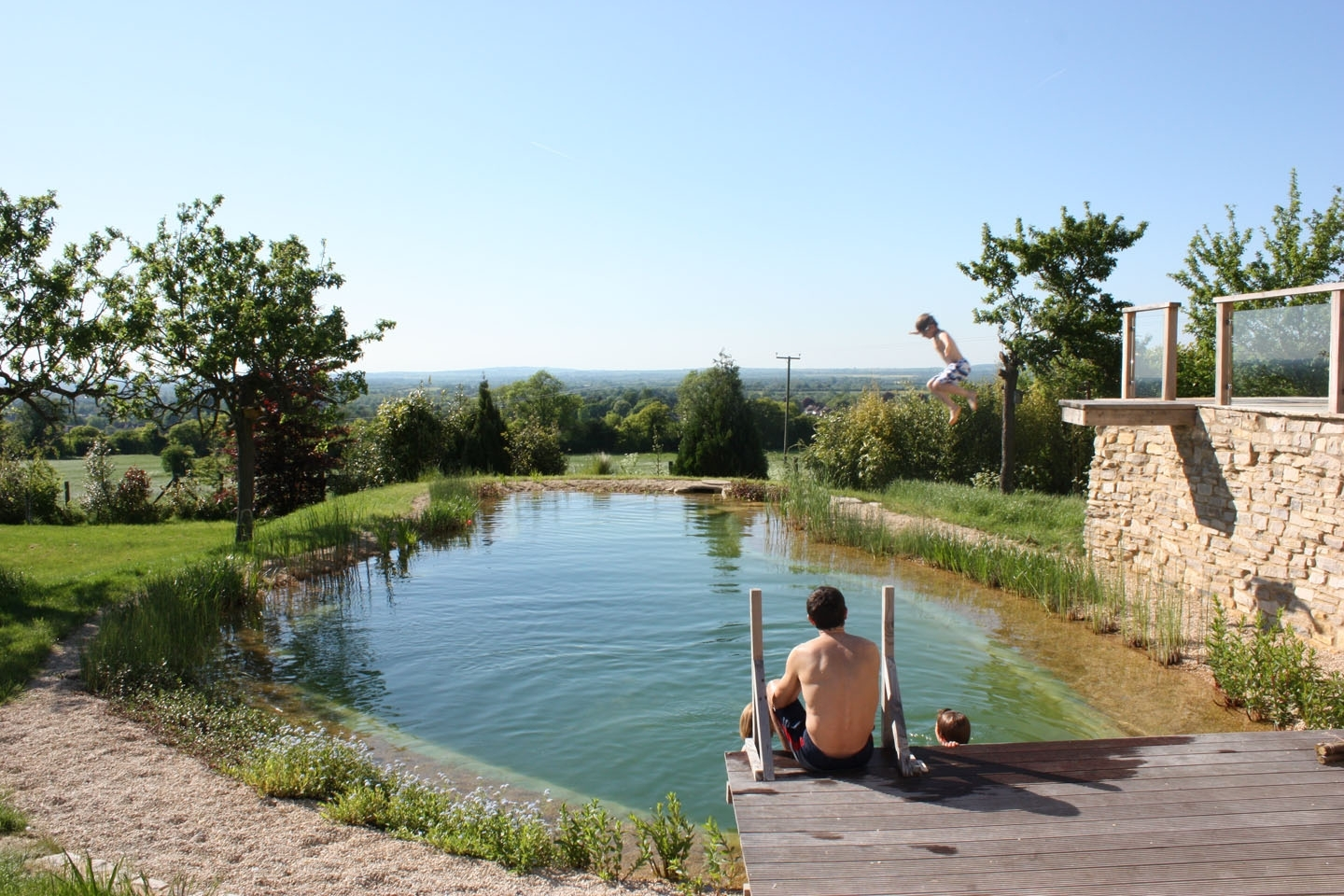 Gartenart | Portfolio | Swimming pond, Buckinghamshire