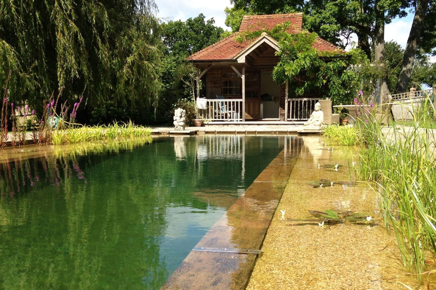 Gartenart | Portfolio | Natural pool, Hampshire